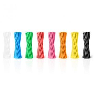 Obrázek Barevná brčka široká 20ks - mix barev