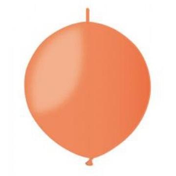 Obrázek Spojovací balonek oranžový pastelový 32cm