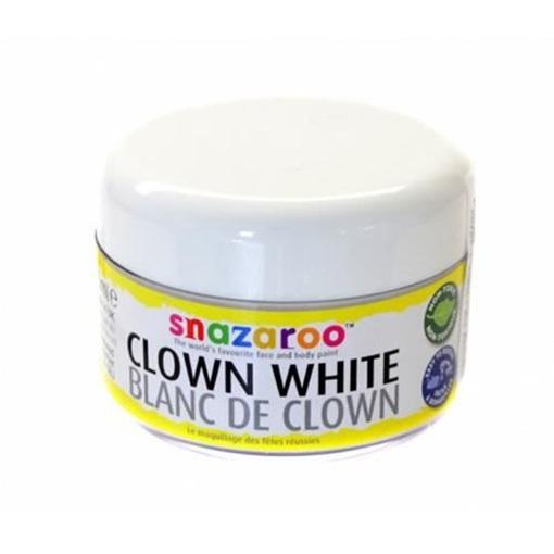 Obrázek z Barva na obličej Snazaroo - klaunská bílá 50 ml