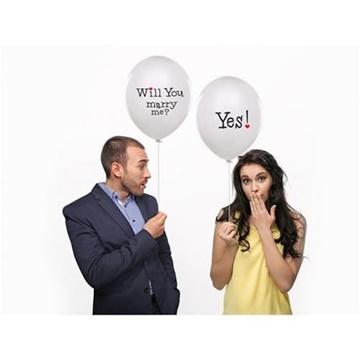 Obrázek Latexový balonek - Vezmeš si mě? Ano!