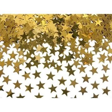 Obrázek Konfety zlaté hvězdičky 30g