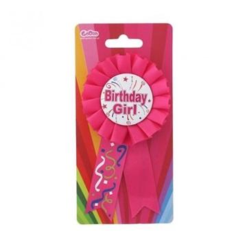 Obrázek Narozeninový odznak - Birthday girl