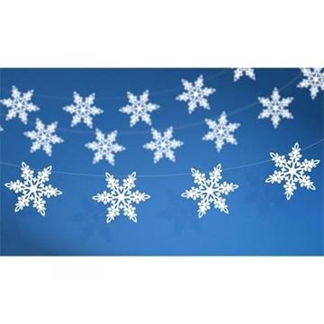 Obrázek Girlanda Sněhové vločky 155 cm