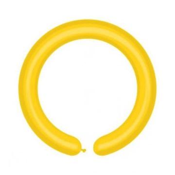 Obrázek Modelovací balonky profesionální - 100 ks - žluté