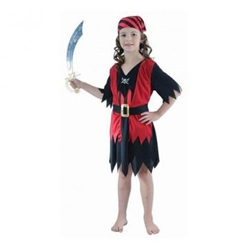 Obrázek Party kostým pirátka - 120 cm