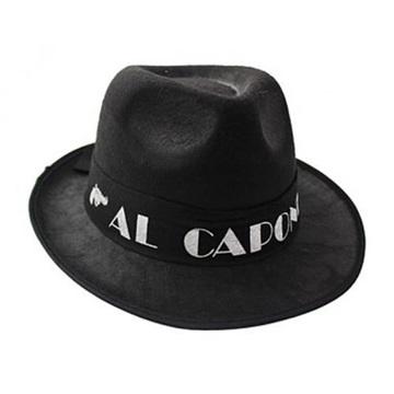 Obrázek Klobouk Al Capone černý