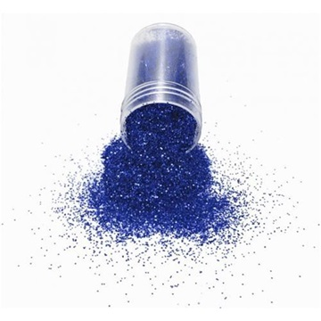 Obrázek Modrý třpytivý prášek - glitr