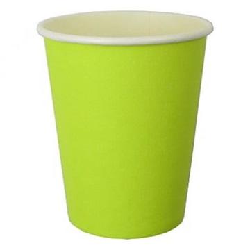 Obrázek Papírové kelímky světle zelené 6 ks