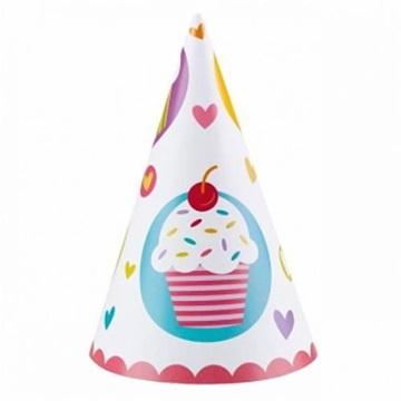 Obrázek Party čepičky Muffin 6 ks