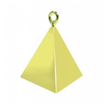 Obrázek Pyramidové závaží Qualatex Zlaté