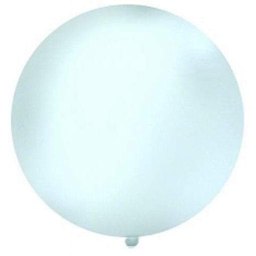 Obrázek z Obří nafukovací balon 100 cm - transparentní (průhledný)