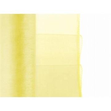 Obrázek Olemovaná organza 36cm x 9m žlutá