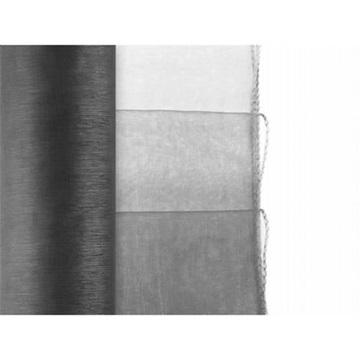 Obrázek Olemovaná organza 36cm x 9m černá