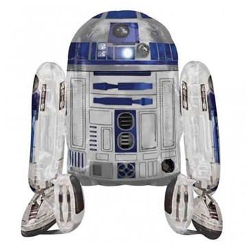 Obrázek Chodící balonek R2D2 Star Wars 96 cm