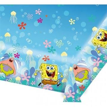 Obrázek Plastový party ubrus Sponge Bob 120 x 180 cm