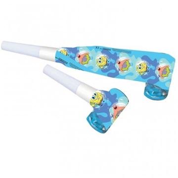 Obrázek Party frkačky Sponge Bob 6 ks