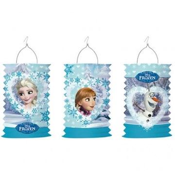 Obrázek Závěsný lampion válec Frozen - Anna a Elsa nebo Olaf