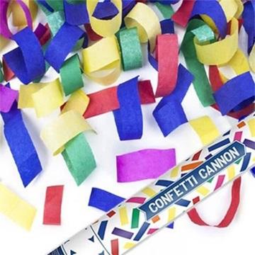 Obrázek Vystřelovací konfety papírové 40 cm