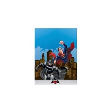 Obrázek Plastový party ubrus Batman vs Superman 120 x 180 cm