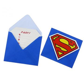 Obrázek Party pozvánka Superman 6ks