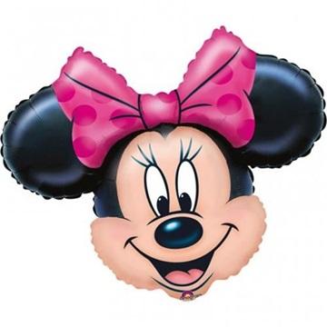 Obrázek Foliový balonek hlava Minnie Mouse 69 cm