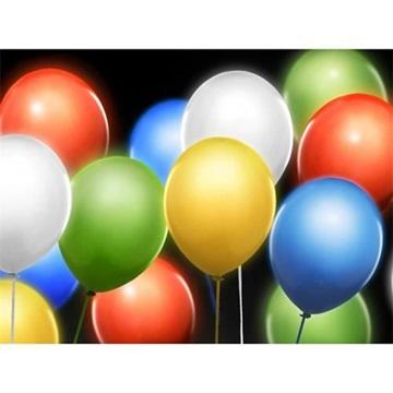 Obrázek Svítící balonky barevné - 5 ks