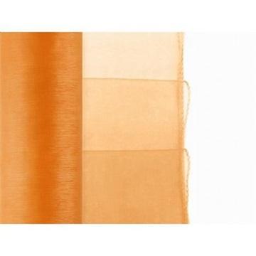 Obrázek Olemovaná organza 36cm x 9m oranžová