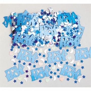 Obrázek Konfety metalické It's a boy 14g