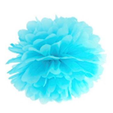 Obrázek Pom pom světle modrý 10 cm