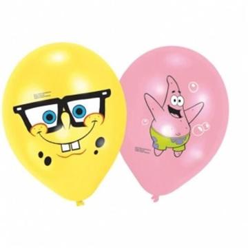 Obrázek Latexové balonky Sponge Bob - 6 ks