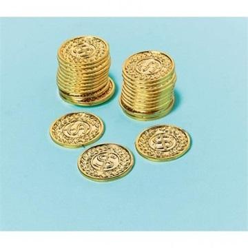 Obrázek Plastové mince Dolary Casino 144 ks