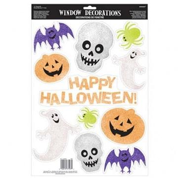 Obrázek Halloween dekorace na okna