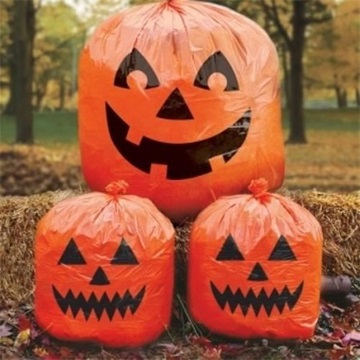 Obrázek Halloween pytle ve tvaru dýní 3 ks