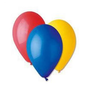 Obrázek Nafukovací balonky 21 cm mix barev 100 ks