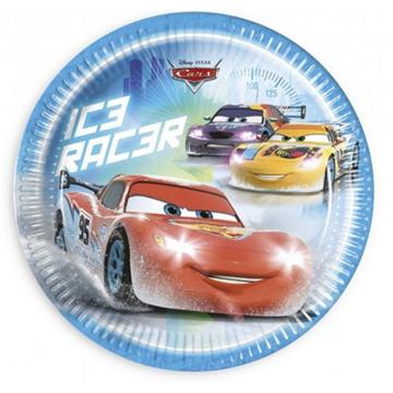 Obrázek Papírové talíře Cars 23 cm - 8 ks