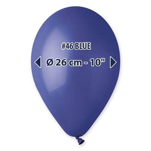 Obrázek z Balonky 26 cm - tmavě modré 100 ks