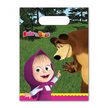 Obrázek Party tašky Máša a Medvěd