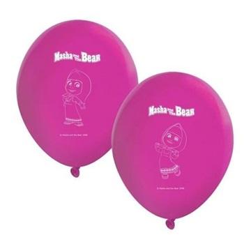 Obrázek Party balonky Máša a Medvěd 8 ks