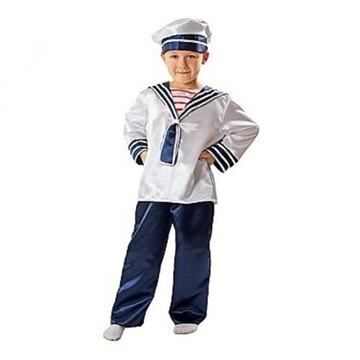 Obrázek Chlapecký kostým Námořník 122 - 128 cm