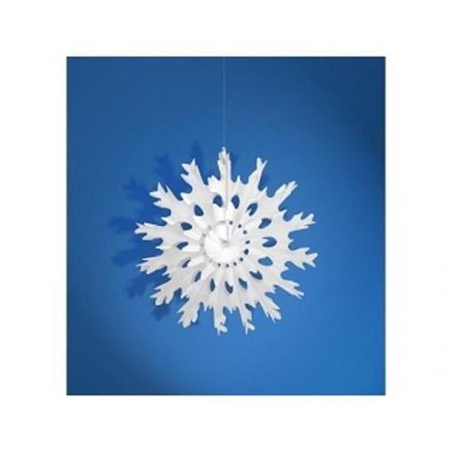Obrázek z Dekorační rozeta Sněhová vločka 25 cm