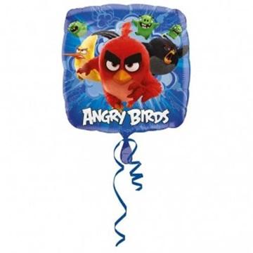 Obrázek Foliový balonek čtverec Angry birds 43 cm