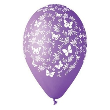 Obrázek Latexový balonek motýlci 30 cm