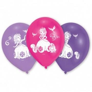 Obrázek Latexové balonky Sofie První 26 cm - 10 ks