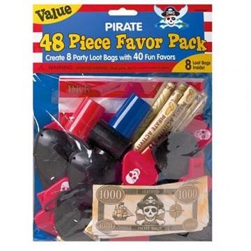 Obrázek Set pro piráta- 48 ks