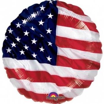 Obrázek Foliový balonek ve stylu USA 45 cm