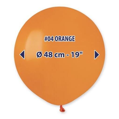 Obrázek z Balonek oranžový 48 cm