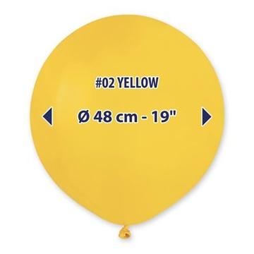 Obrázek Balonek žlutý 48 cm