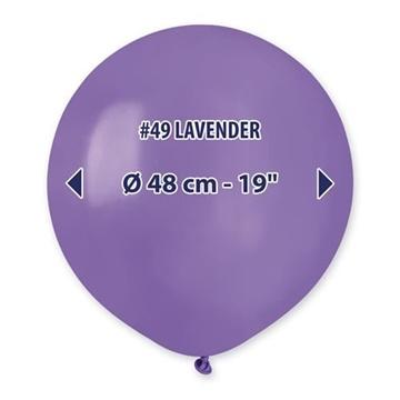 Obrázek Balonek fialový 48 cm