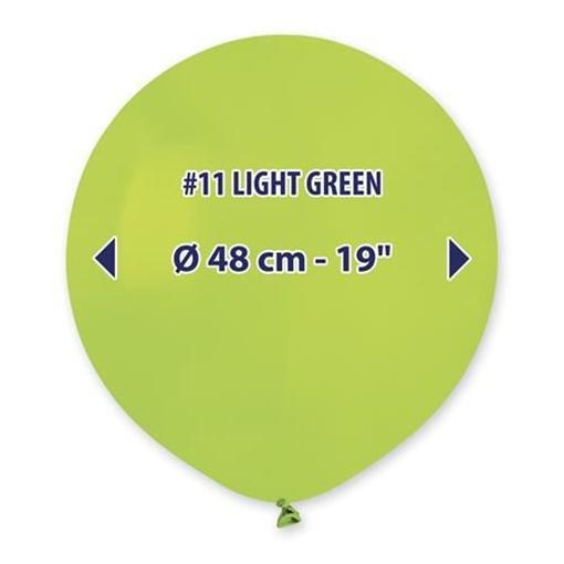 Obrázek z Balonek světle zelený 48 cm