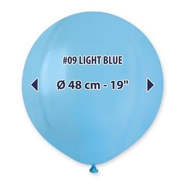 Obrázek Balonek světle modrý 48 cm